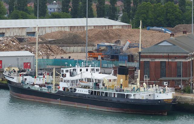 SS Shieldhall at Southampton (1) - 1 June 2015
