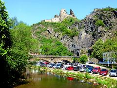 DE - Altenahr - Blick auf die Burg Are