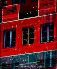 windows in the night