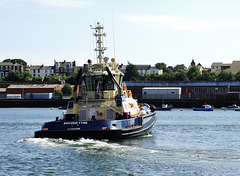 Svitzer Tyne Tug....off to work