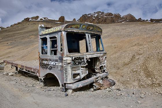 Route Manali-Leh