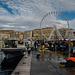 Le marché aux poissons du Vieux-Port à Marseille.........(on black).