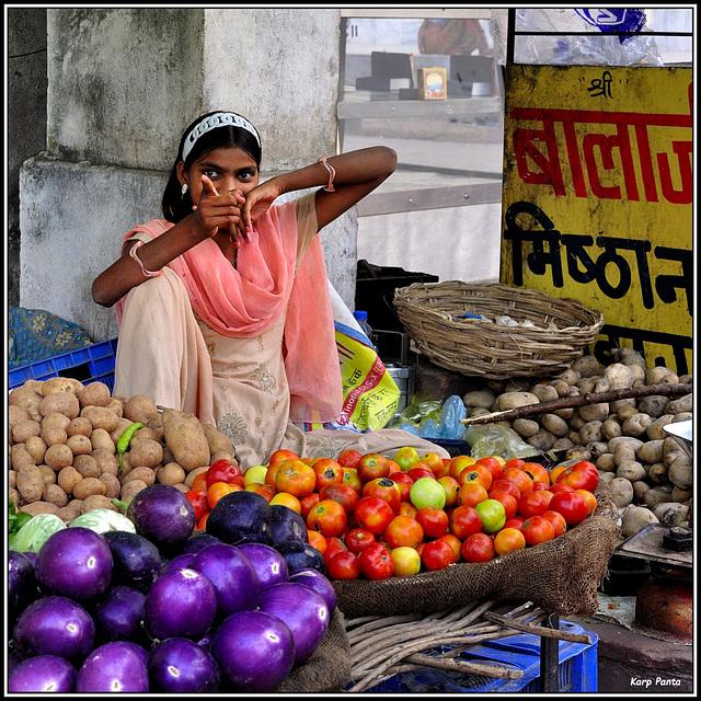 """Street market"" - Orchha - Madhya Pradesh - INDIA"