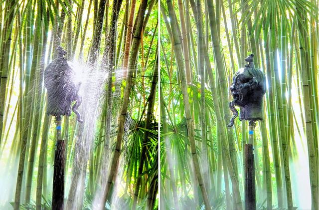 Collage: Die Beiden spuckenden Typen... ©UdoSm