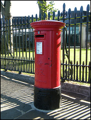 Greenwich pillar box