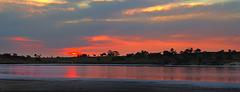 Pink Lakes sunset