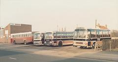 Hammond Coaches, Lakenheath - Feb 1985 8-14