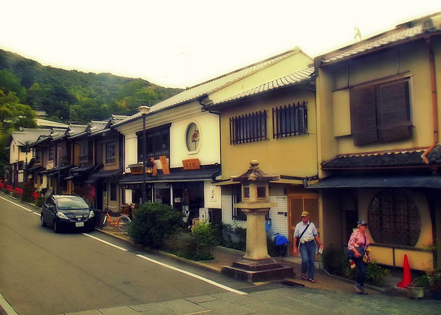 Traditional-style houses, Kyoto