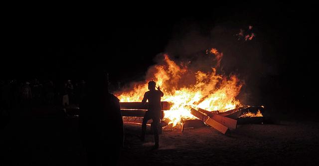 Burning Earthstar at BEquinox (3172)