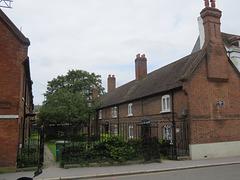 elys davies almshouses, croydon, london