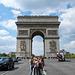 Paris, The Arc de Triomphe