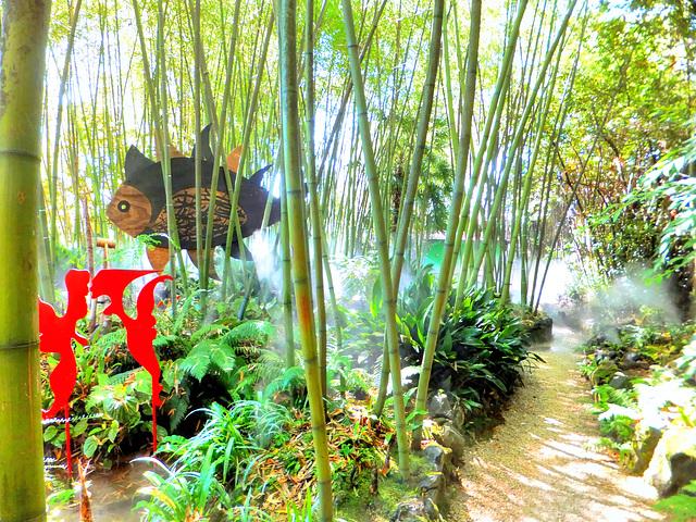 Im Bambus-Märchen-Wald...©UdoSm