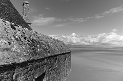 The Rooftops of Mont Saint Michel (iv)