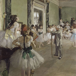 Edgar Degas : Classe de danse