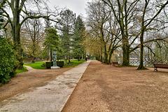BESANCON: Parc Micaud.