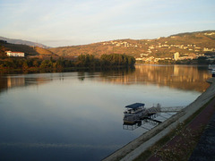 Beholding Douro River at 07.53 am.