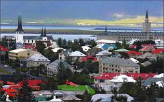 REYKJAVIK - Iceland - (550)
