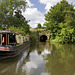 Drakeholes canal basin and tunnel, Chesterfield Canal, Nottinghamshire.