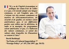 David Rothkopf, FR