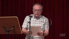 """Mireille Grosjean legas la tekston de Verda Majo """"Esperanto kaj demokratio"""""""