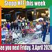 Stopp HFF 28.03.2020