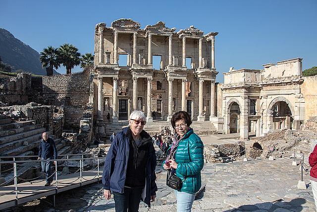 20151207 9765VRAw [R~TR] Celsus-Bibliothek, Ephesos, Selcuk