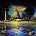 Sukhothaï, temple le Chedi de la Vieille ville !