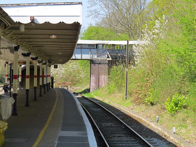 gordon hill railway station, enfield, london