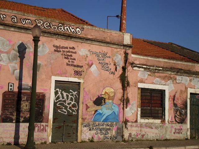 José Saramago mural.
