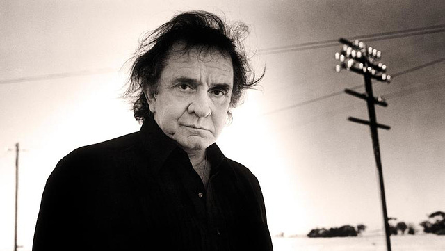 Johnny Cash  (man in black)