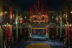 Le hall avec son décor Belle Epoque