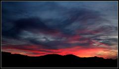 Crépuscule du 16 novembre - éruption volcanique ?