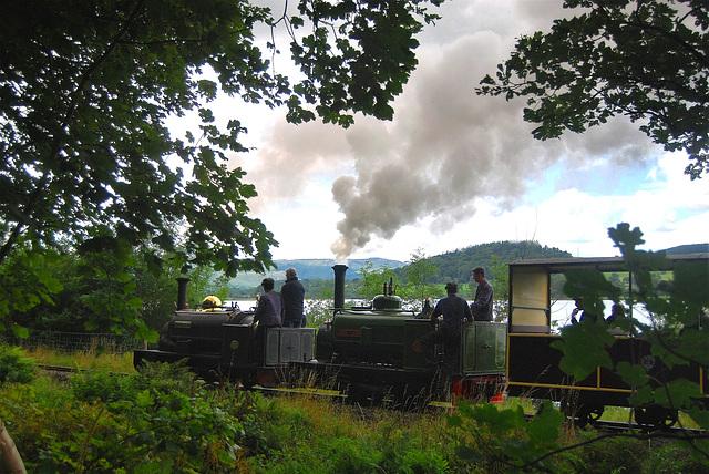 Bala Lake Railway.