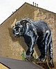 Panther Mural, Maryhill Road, Glasgow