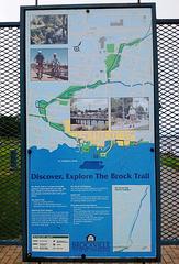 Brock trail in blue