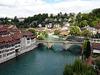 Blick auf die Untertorbrücke und die Aare in Bern