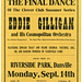 Eddie Gilligan and His Cosmopolitan Orchestra, Riverside Park, Danville, Pa., Sept. 14, 1925