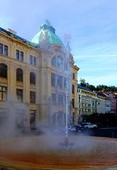 CZ - Karlovy Vary - Hot spring