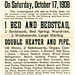 Catherine Baker, Public Sale, Landisville, Pa., October 17, 1908