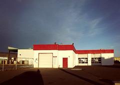 Sunset gas station