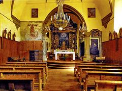 La cinquecentesca chiesa di Bousson - (669)