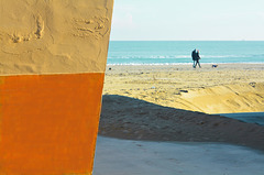 colori e ombre della spiaggia