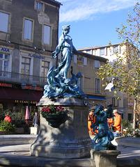 Place de la République Limoux