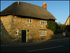 stone cottage in Abbotsbury