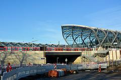 HFF: Baustelle S-Bahn Station (PiP)
