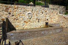 Fontanile in via della Repubblica, 94 - località La Bianca - Allumiere - RM