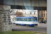 Alte Straßenbahn Tatra T3A in Riga