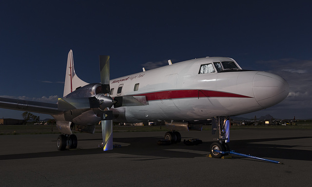 Honeywell Convair CV-580 N580HW