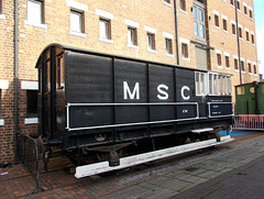 O&Sglos - MSC van