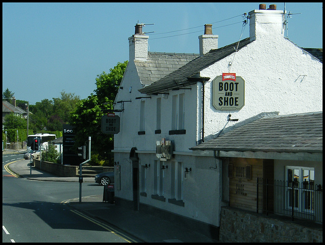 The Boot and Shoe at Scotforth